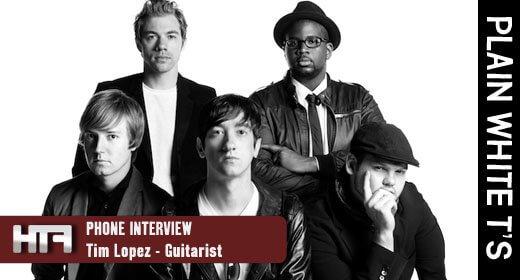 Interview - Plain White T's