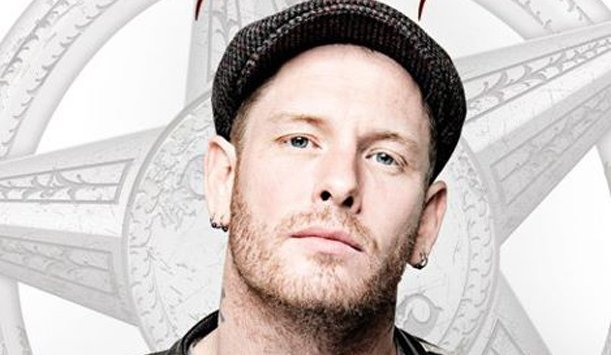 Corey Taylor after undergoing neck surgery
