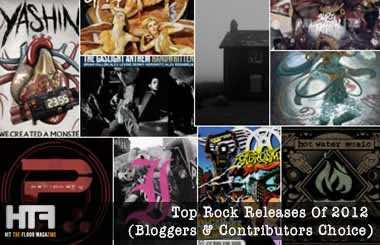 Top Rock Releases 2012