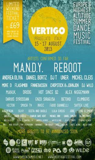 First Ever Vertigo Festival To Take Place This Augustt