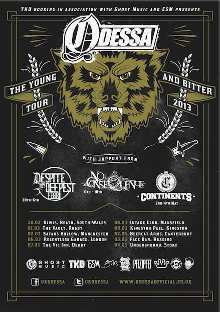 Odessa.tour.Poster