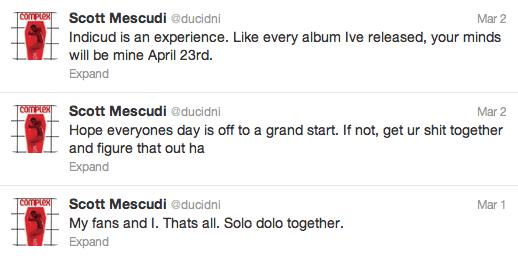Kid Cudi's Tweets