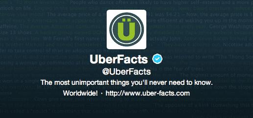 @UberFacts