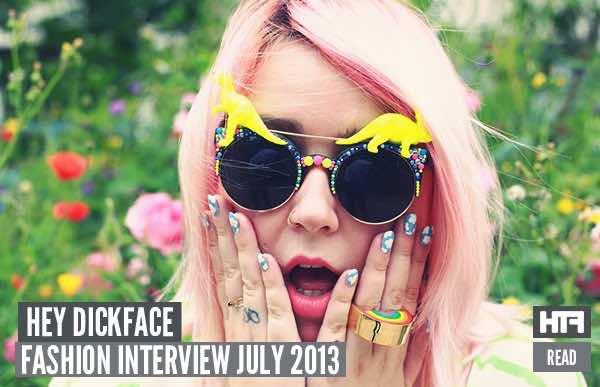 Hey Dickface interview header