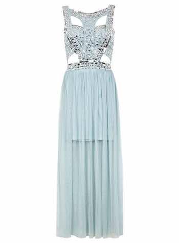 Today We Lovemiss Selfridges Sequin Stud Maxi Dress Htf Magazine