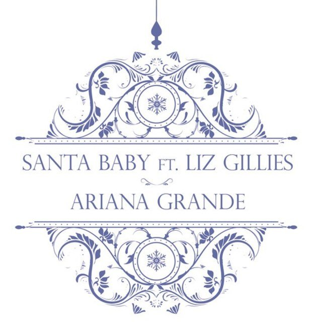 ariana grande covers santa baby htf magazine