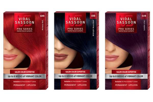 Vidal Sassoon Hair Color Chart