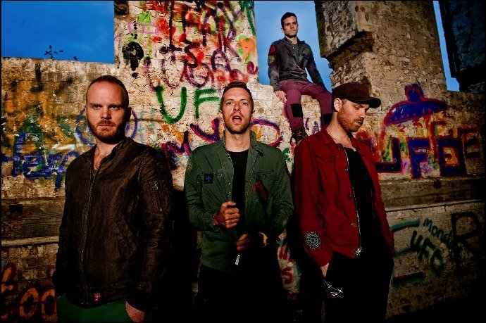coldplay press