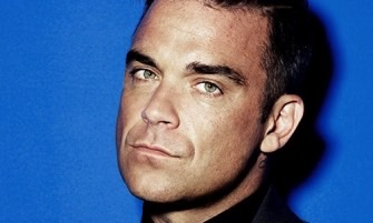 Robbie Williams Head Shot