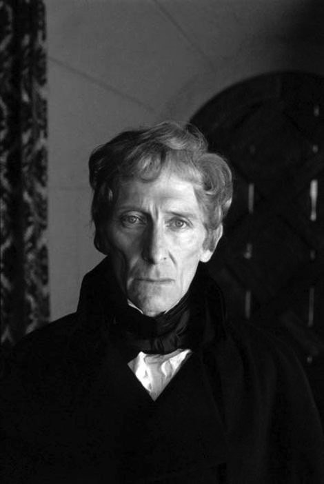 Peter Cushing behind the scenes at Hammer Horror