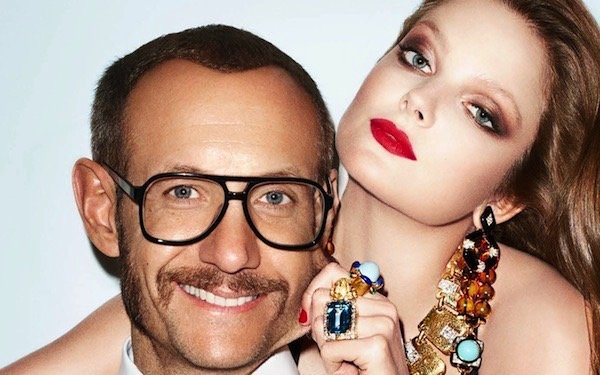 Terry Richardson for David Webb campaign