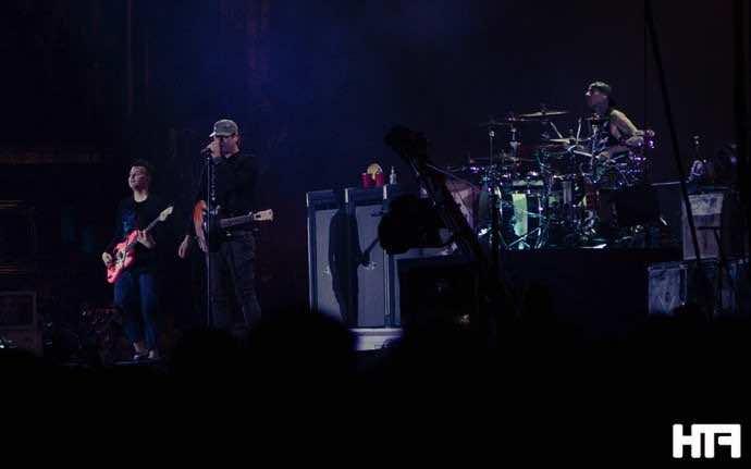 Blink 182 Reading Festival 2014