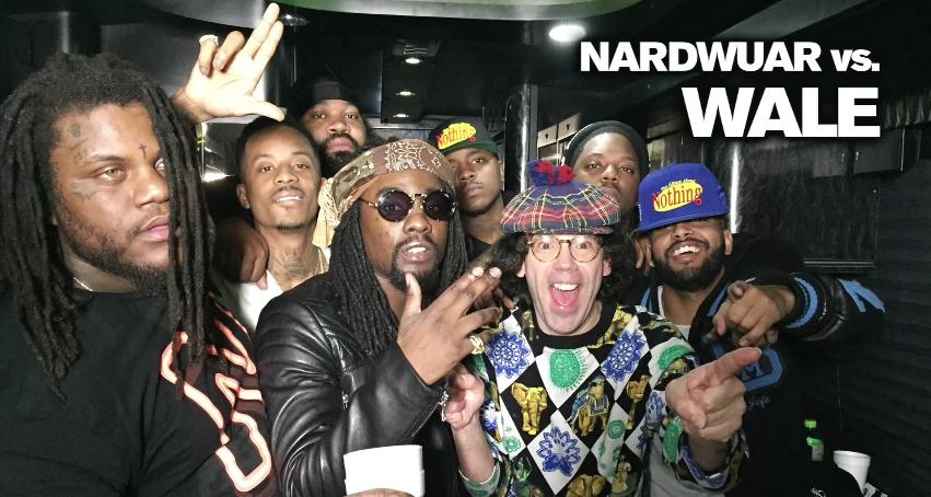 Wale Nardwuar interview