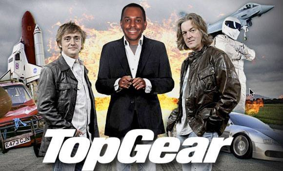 Top Gear hosted by Andi Peters