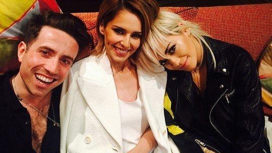 Grimmy Cheryl Rita Ora - X Factor