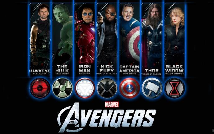 Avengers re-cast