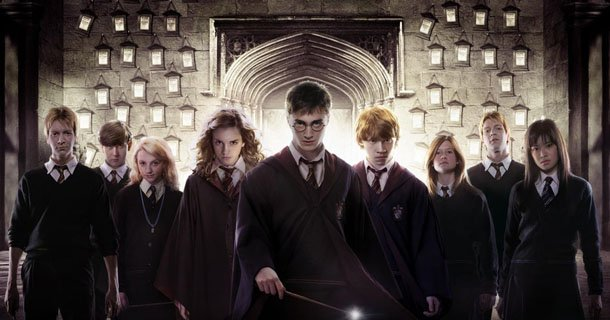 Source: Harry Potter promotional material