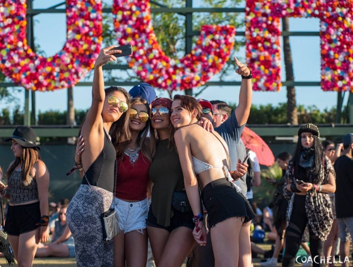 Girls At Coachella