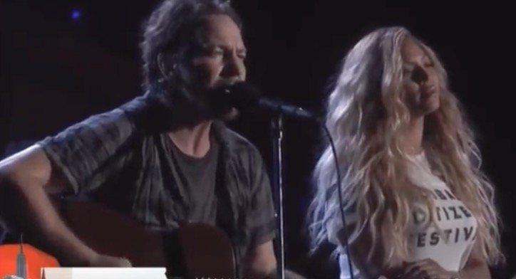 Pearl Jam Beyonce