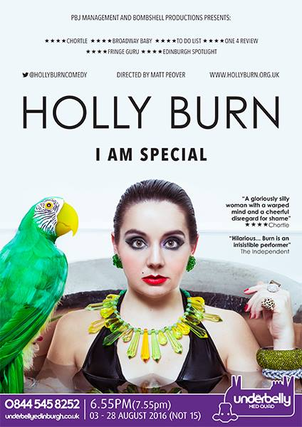 Ed Fringe Holly Burn
