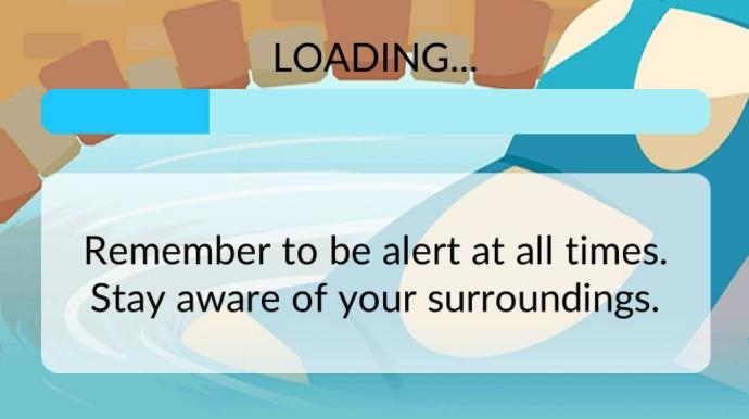 Pokemon Go Loading