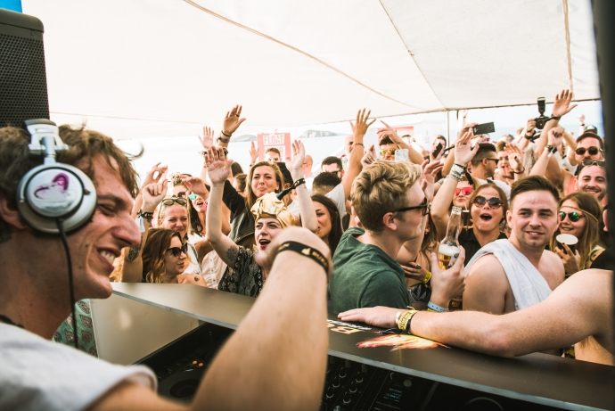 Lollino @ Burn Residency Boat Party. Source: Official PR