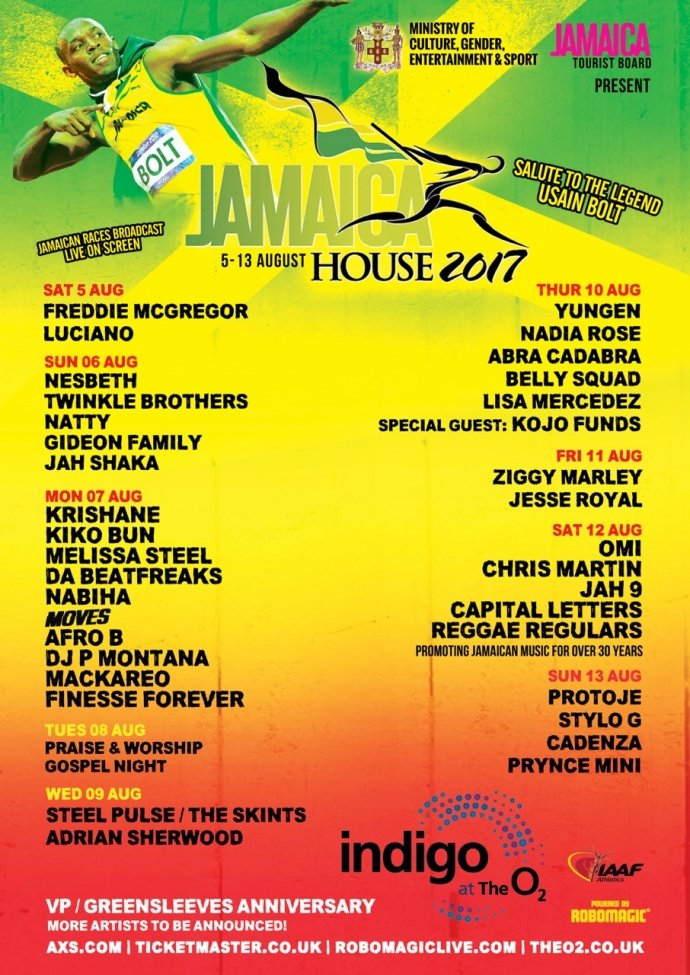 Jamaica House 2017: Win Tickets For Yungen, Nadia Rose