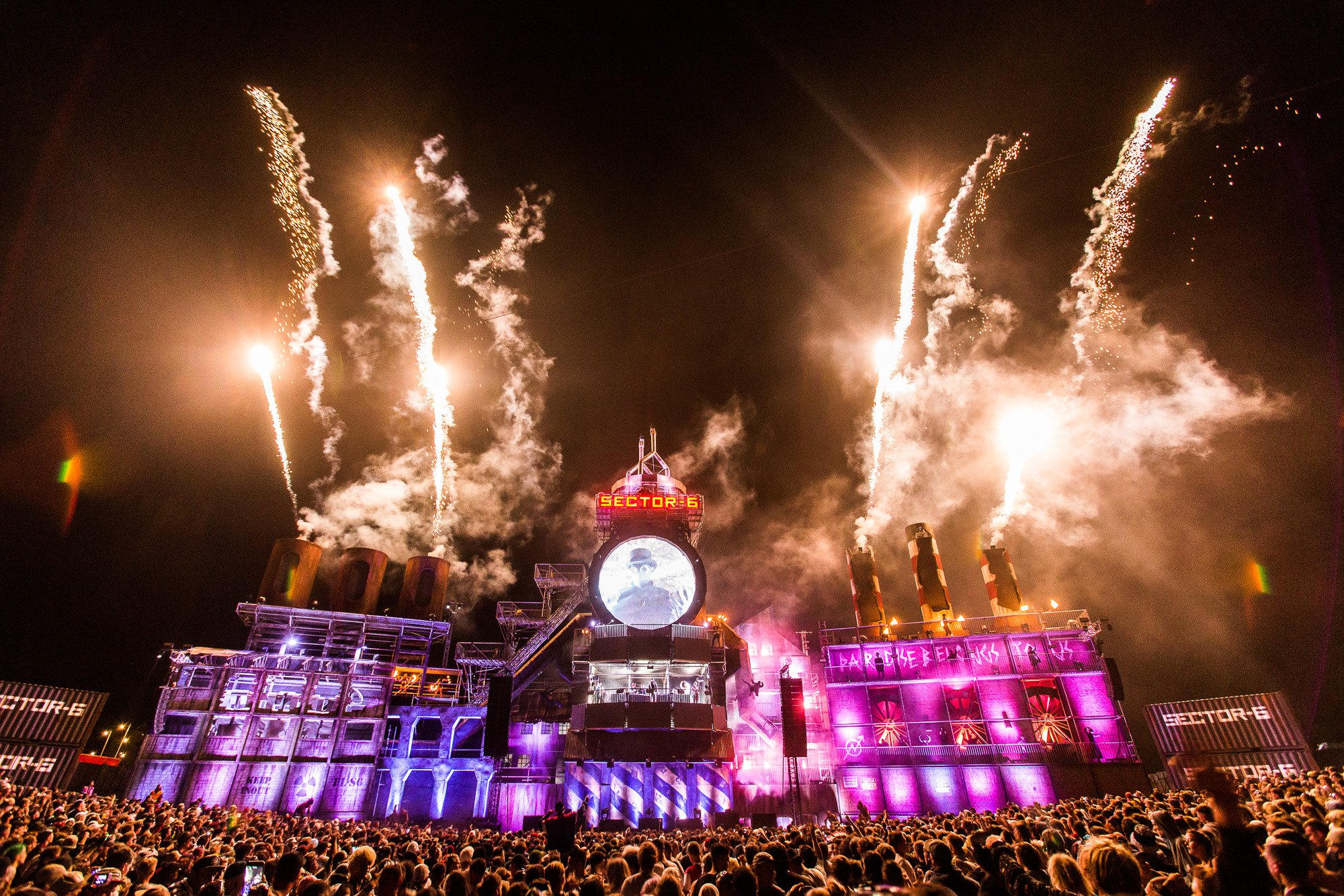 Boomtown - Sector 6 Stage