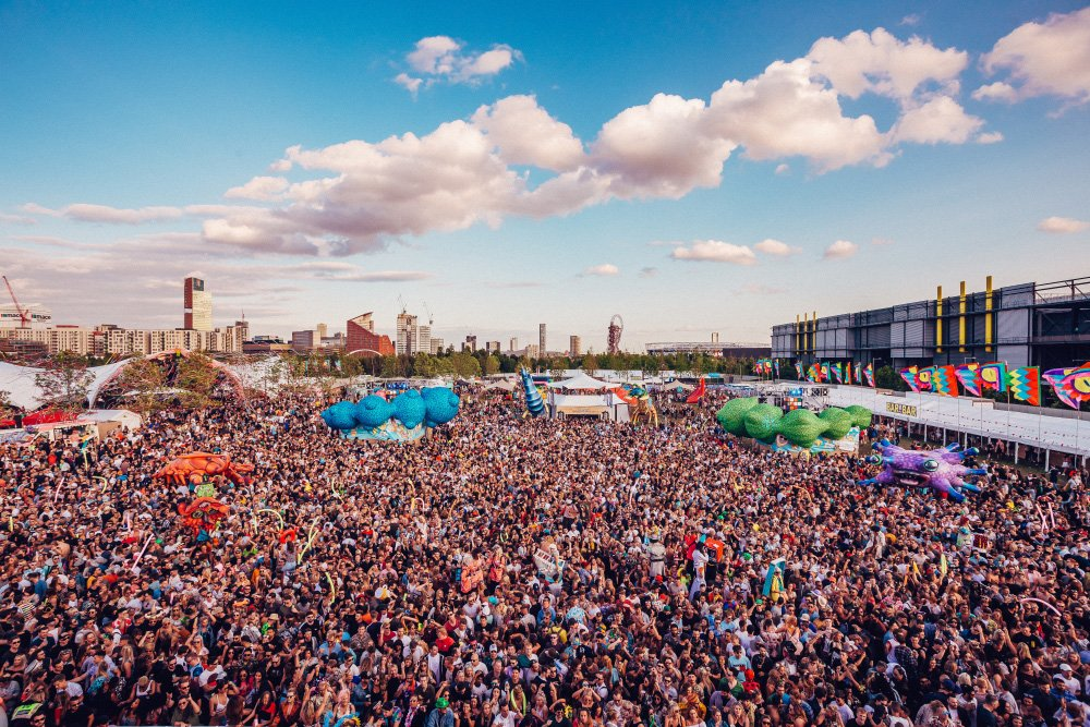 Elrow Town Causes Nationwide Confetti Shortage At The Olympic Park!