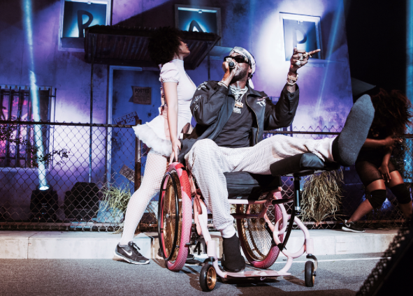 2 Chainz Pink Wheelchair