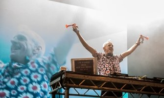 Fatboy Slim at Lockdown Festival 2017 - Credit: Josh Pratt