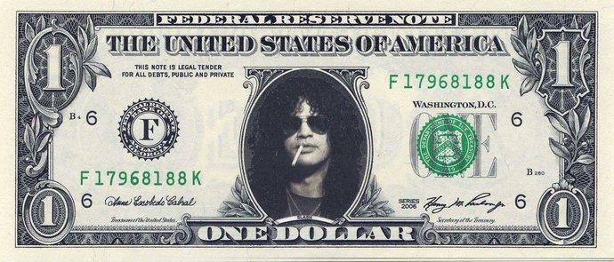 Slash Dollar Bill