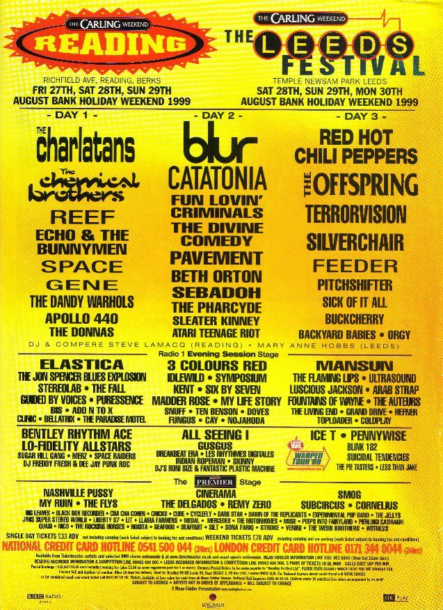 Reading Festival 1999