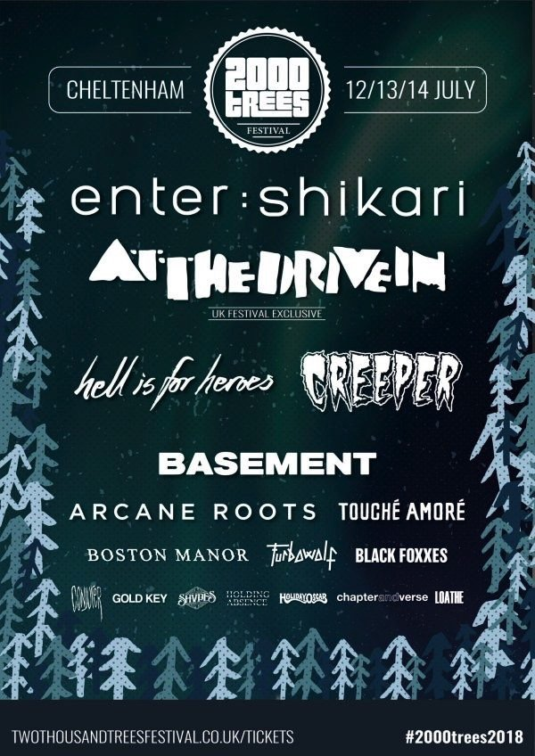 trees lineup