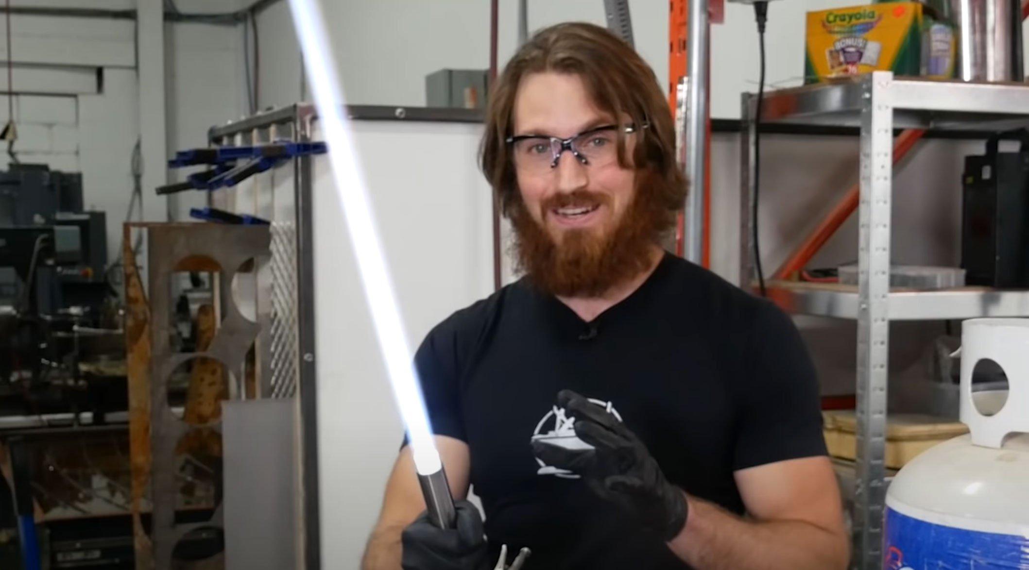 The Hacksmith Lightsaber