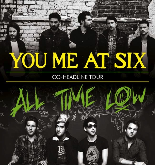 You Me At Six/All Time Low