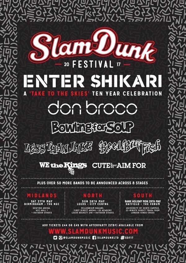 slam dunk first line up 2017