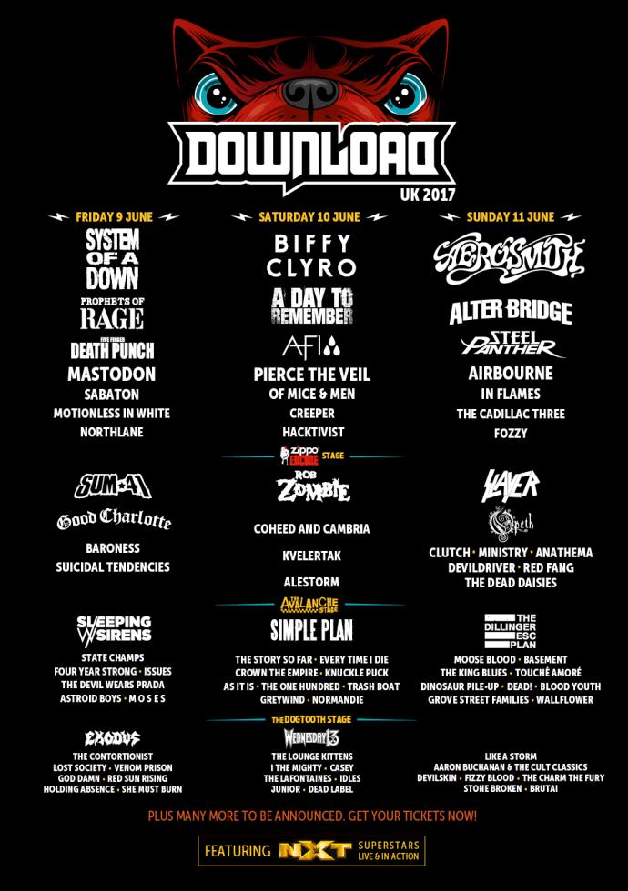 download line up