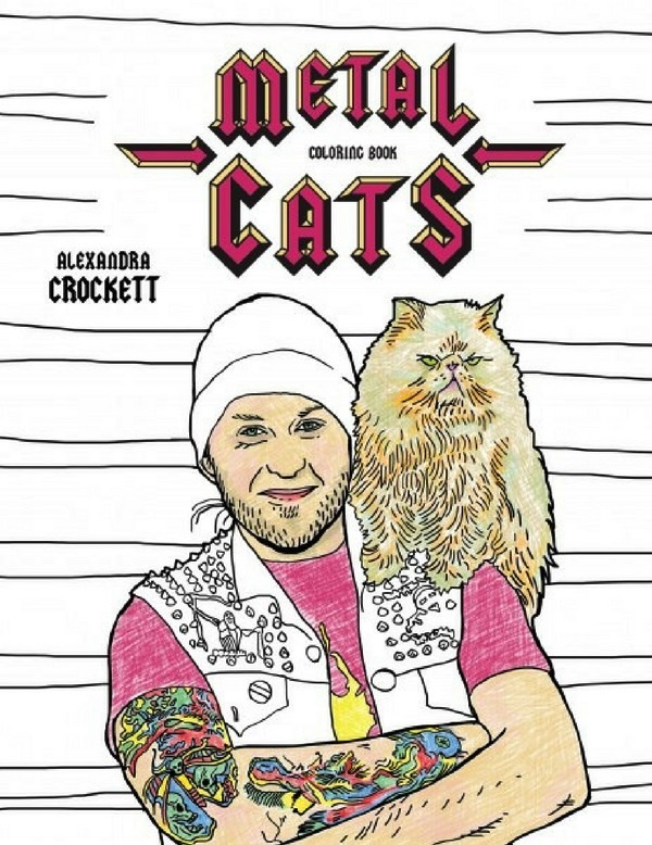 Metal Cats colouring book (1)