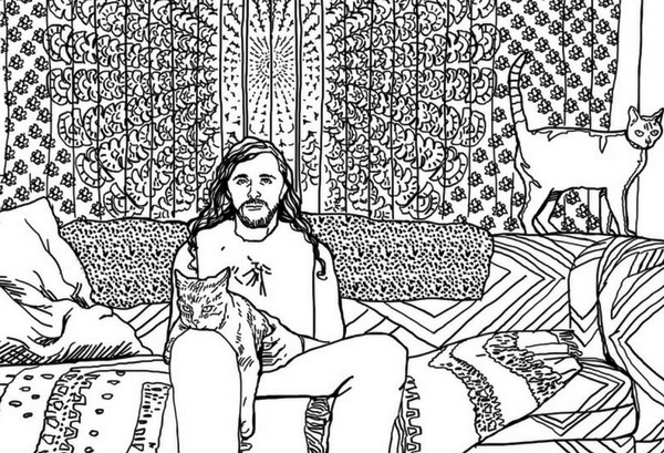 Metal Cats colouring book (4)