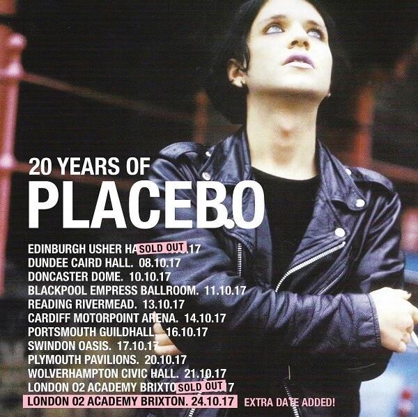 Placebo tour poster