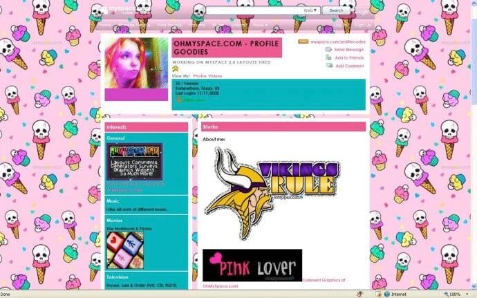 Myspace quiz