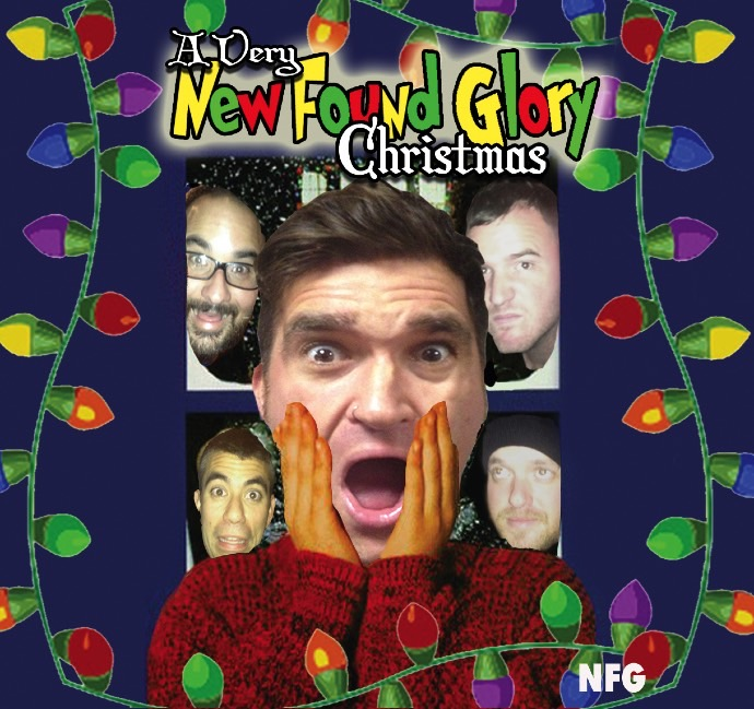 In which year did New Found Glory release their album A Very New Found Glory Christmas?